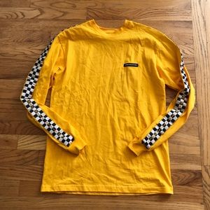 Yellow Human With Attitude NWOT Shirt